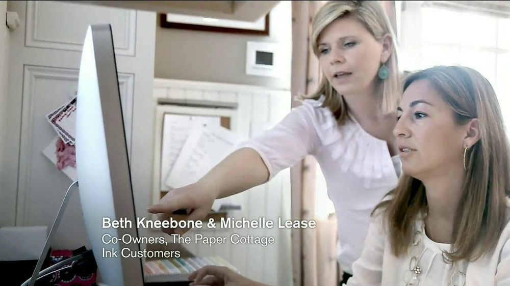 Chase Ink TV Spot, 'The Paper Cottage: Beth and Michelle' - Screenshot 3