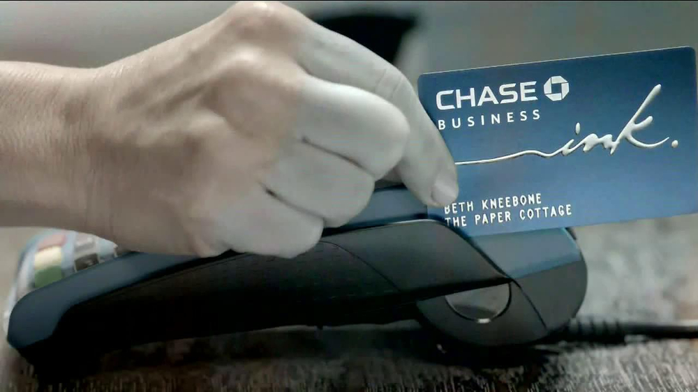 Chase Ink TV Spot, 'The Paper Cottage: Beth and Michelle' - Screenshot 4