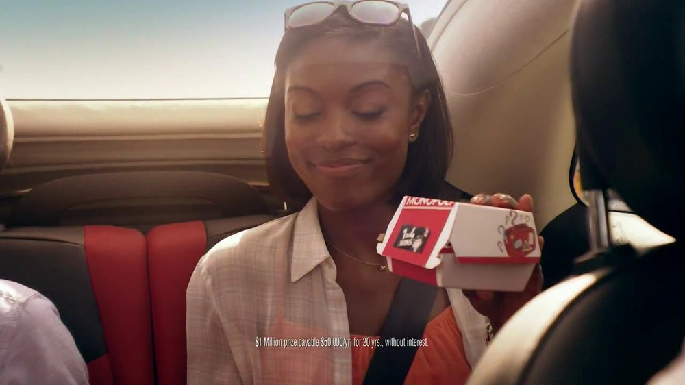 McDonald's Monopoly TV Spot, 'Road Trip' - Screenshot 9
