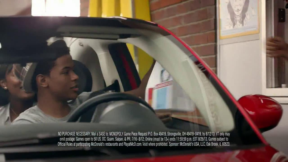 McDonald's Monopoly TV Spot, 'Road Trip' - Screenshot 7