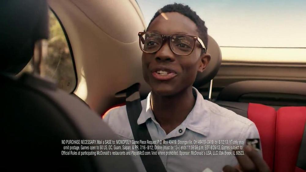 McDonald's Monopoly TV Spot, 'Road Trip' - Screenshot 8