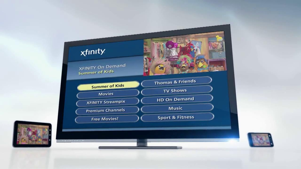 Comcast/Xfinity TV Commercial, 'Summer of Kids' - iSpot.tv