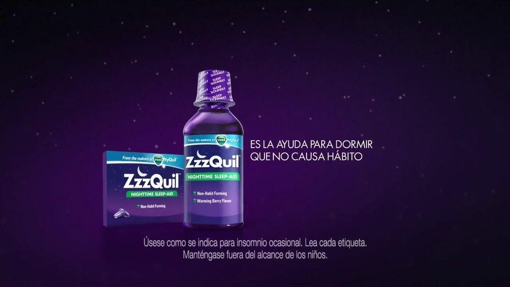 Vicks ZzzQuil TV Spot Con Katherine Heigl [Spanish] - Screenshot 10