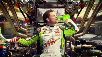 Diet Mountain Dew TV Spot, 'Living Portrait' Featuring Dale Earnhardt, Jr. - Thumbnail 2