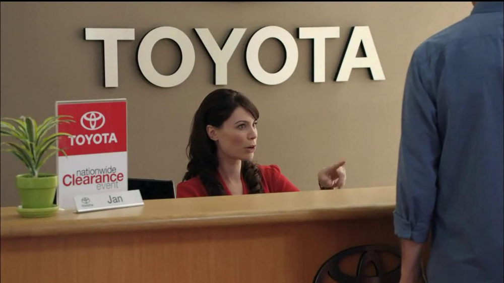 Toyota Nationwide Clearance TV Spot, 'Clarence' - Screenshot 6