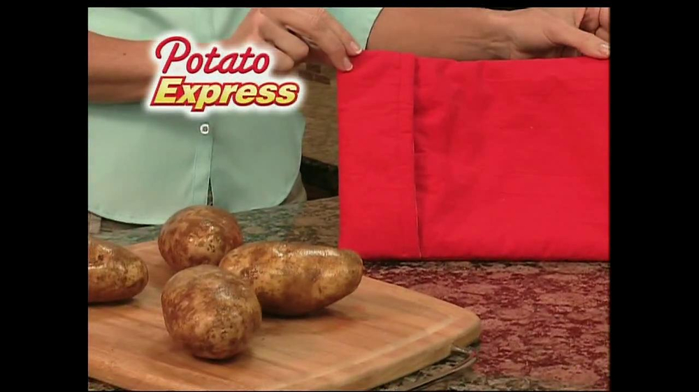 Potato Express With Recipe Guide & Super Slicer TV Spot - Screenshot 2