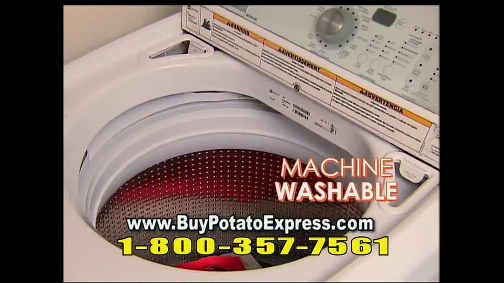 Potato Express With Recipe Guide & Super Slicer TV Spot - Screenshot 7