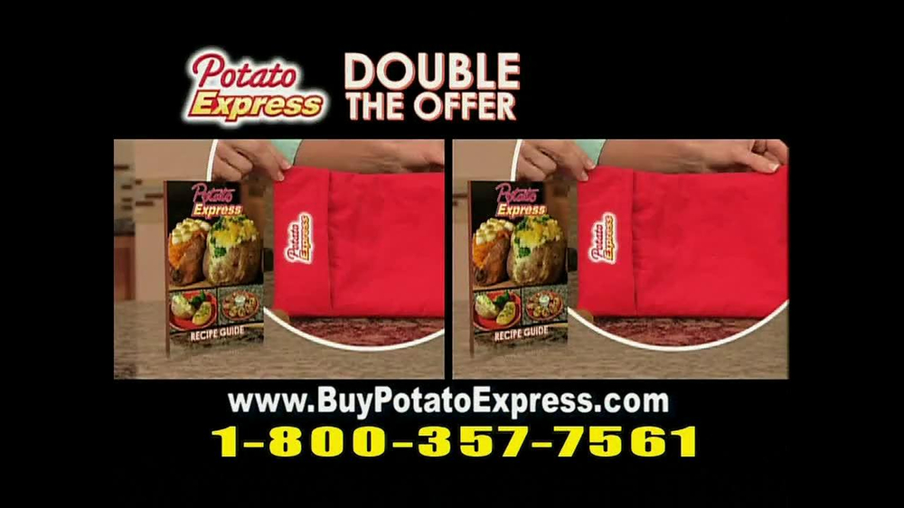 Potato Express With Recipe Guide & Super Slicer TV Spot - Screenshot 8