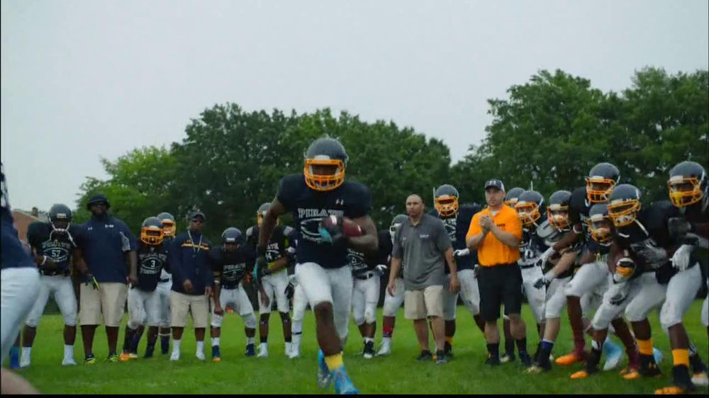 Under Armour TV Spot, 'I Will: Football' Song by TNGHT - Screenshot 9