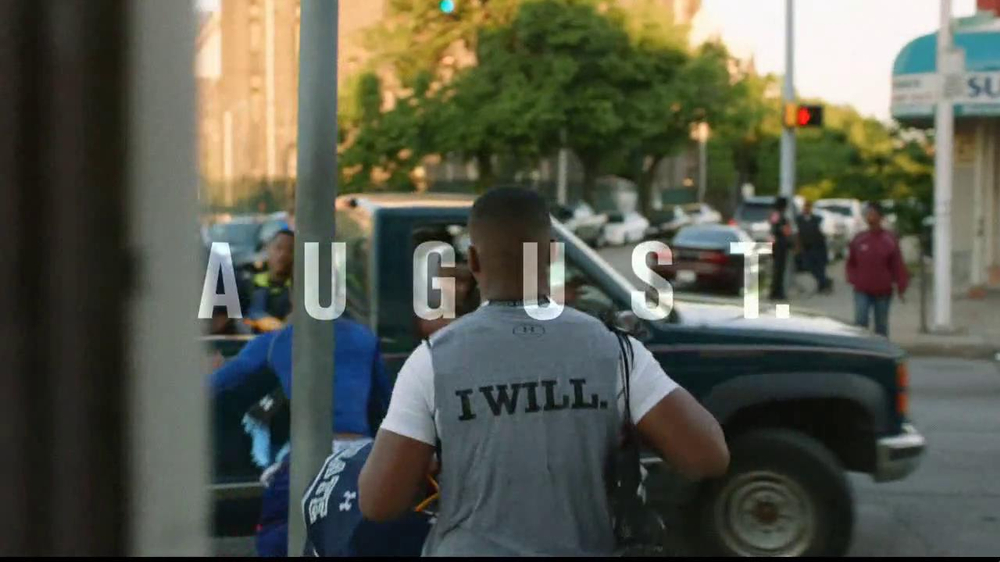 Under Armour TV Spot, 'I Will: Football' Song by TNGHT - Screenshot 2