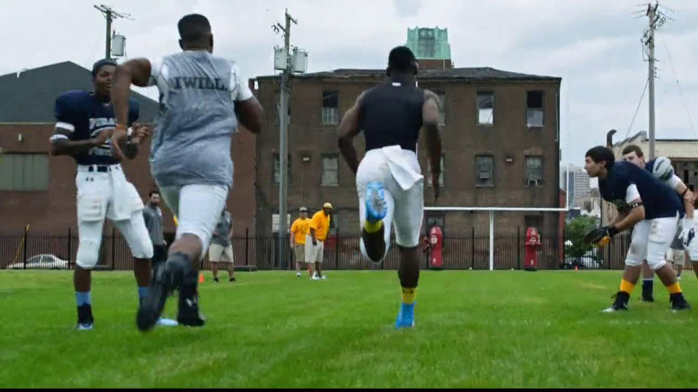 Under Armour TV Spot, 'I Will: Football' Song by TNGHT - Screenshot 8
