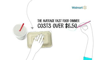 Walmart TV Spot, 'Fast Food Savings'