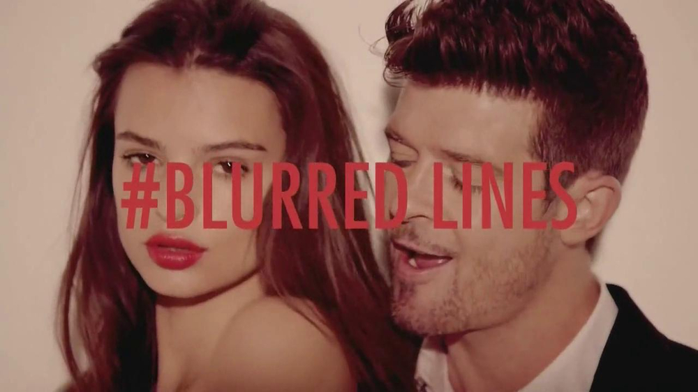 """Robin Thicke """"Blurred Lines"""" TV Spot"""