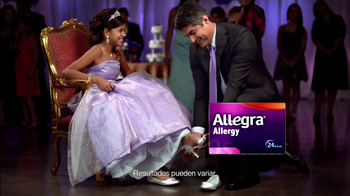 Allegra Allergy TV Spot, 'Quinceañera' [Spanish] thumbnail