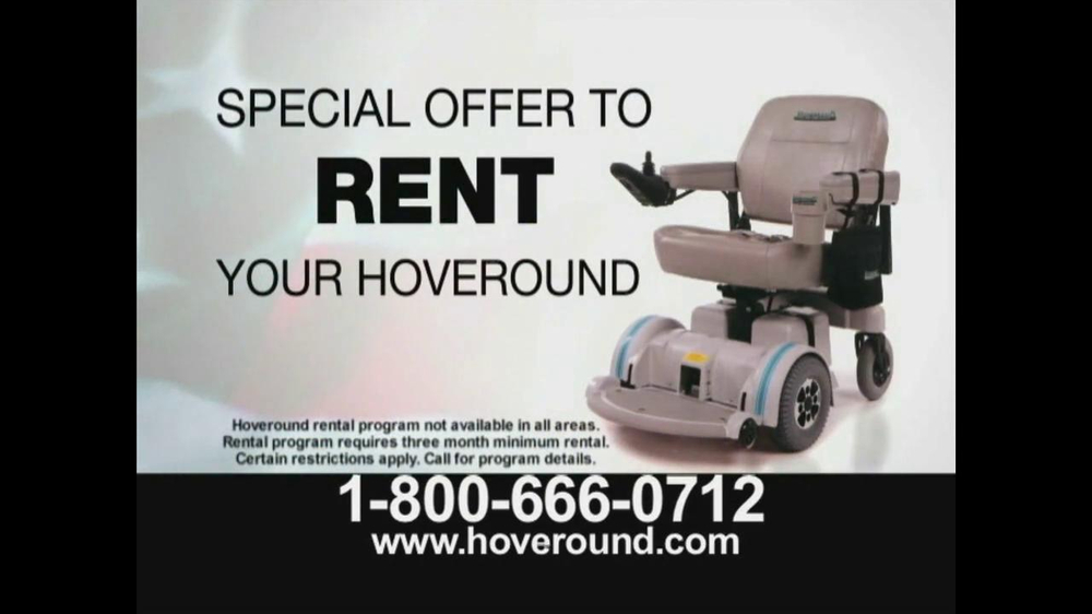 Hoveround Rental Program Tv Commercial Easy Mobility