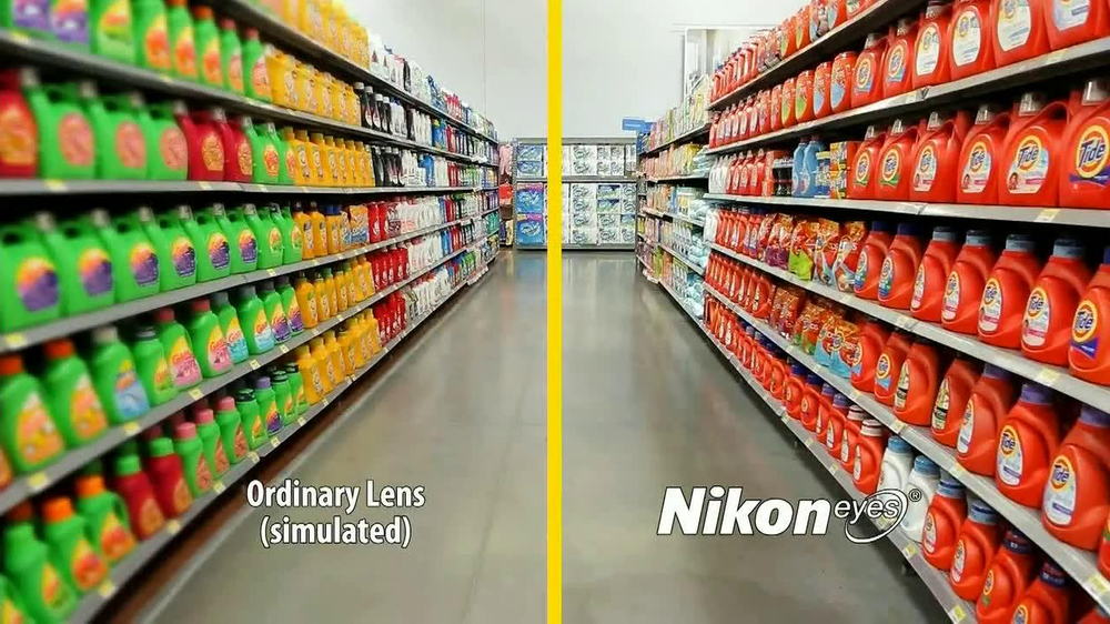 Walmart Vision Center TV Spot, 'Nikon Eyes' - Screenshot 4