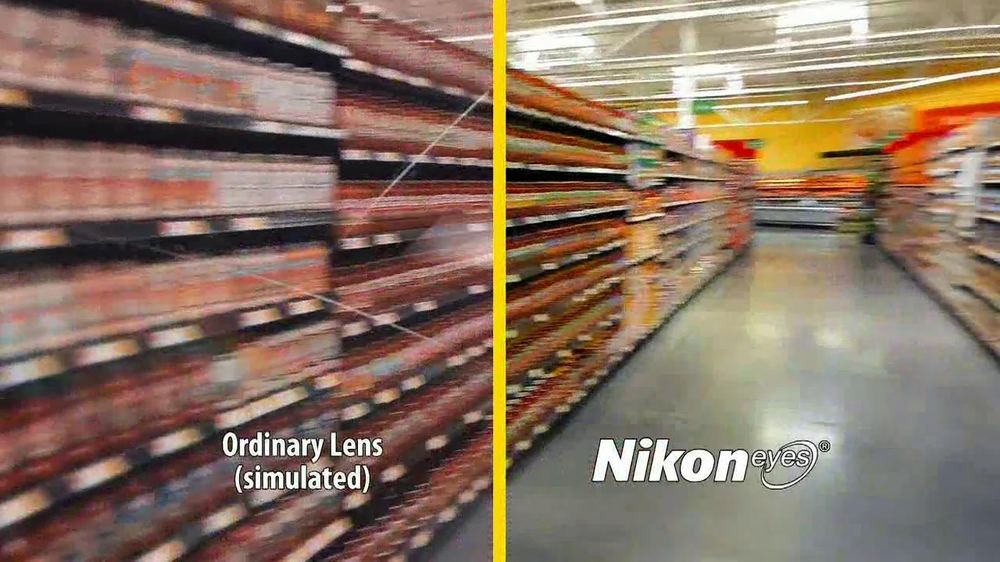 Walmart Vision Center TV Spot, 'Nikon Eyes' - Screenshot 5