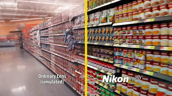 Walmart Vision Center TV Spot, 'Nikon Eyes' - Thumbnail 6