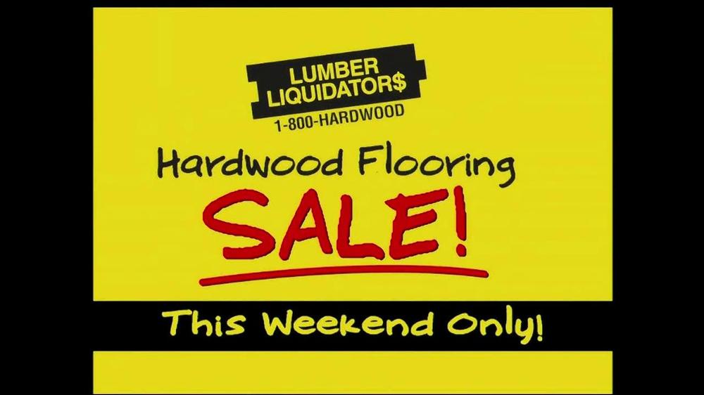 Flooring Sale Flyer : Lumber liquidators hardwood flooring sale tv spot