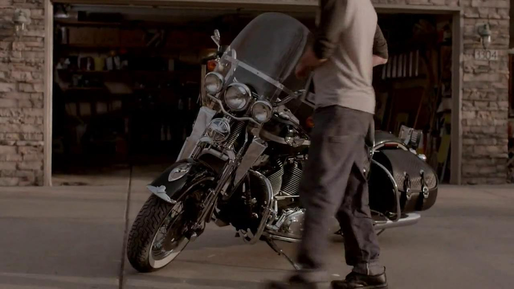 Indian Motorcycle TV Spot, 'For Sale' Song by Willie Nelson - Screenshot 7