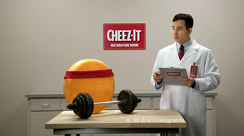 Cheez-It Big TV Spot 'Weights'