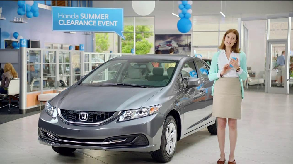 honda summer clearance event tv commercial kasi jackson tweets ispottv