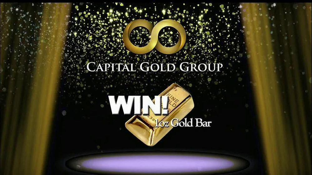 Capital Gold Group TV Spot, 'One-ounce Gold Bar' - Screenshot 2