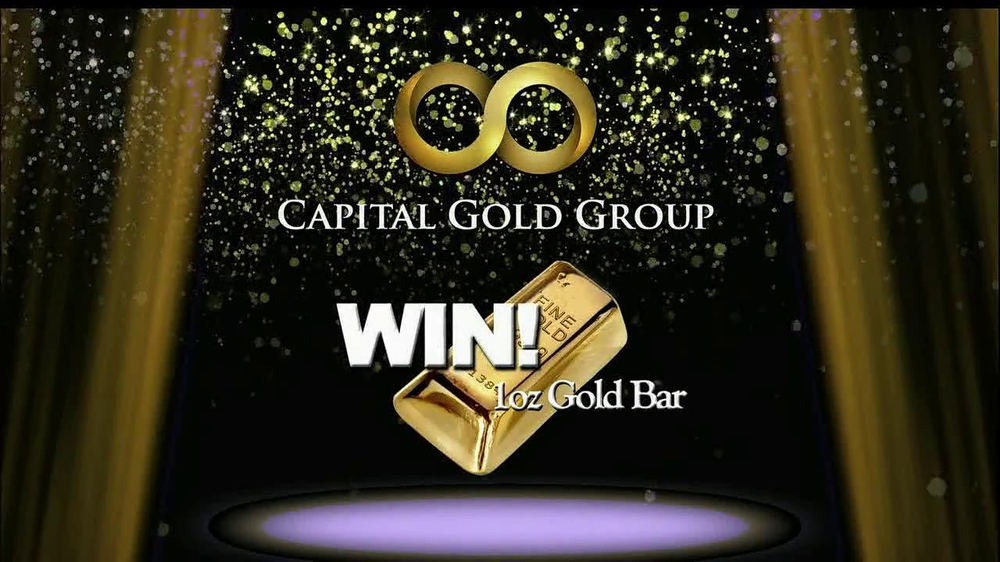 Capital Gold Group TV Spot, 'One-ounce Gold Bar' - Screenshot 3