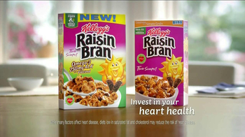 Kellogg's Raisin Bran with Flax Seed TV Spot