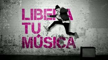 T-Mobile TV Spot, 'Libera tu música' [Spanish] thumbnail