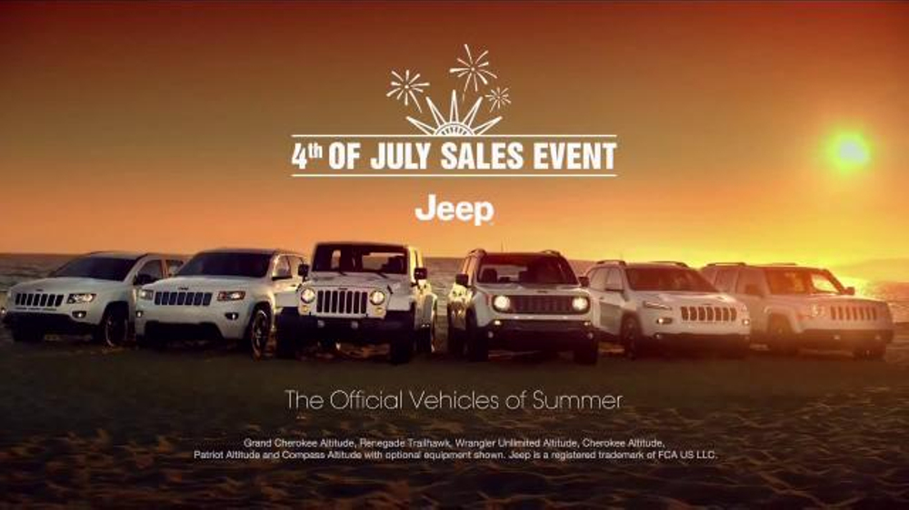 2015 Jeep Cherokee Latitude TV Commercial, '2015 Fourth of ...