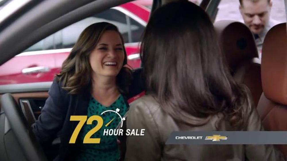 Chevrolet 72 Hour Sale TV Spot, 'Surprising Reactions'