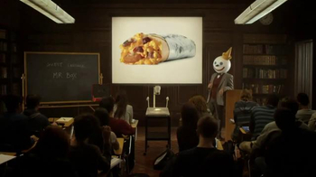 Jack in the Box Steak & Egg Breakfast Burrito TV Spot, 'Guest Lecturer'