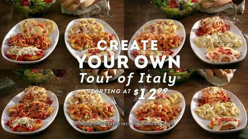 Casual Dining Tv Commercials
