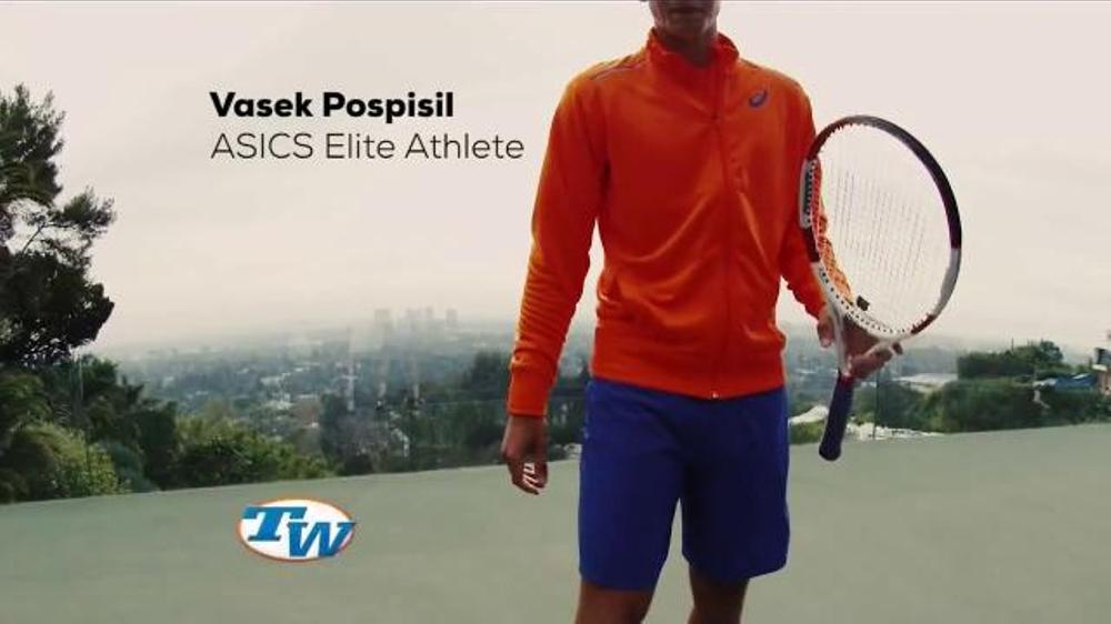 asics commercial 2015 tennis