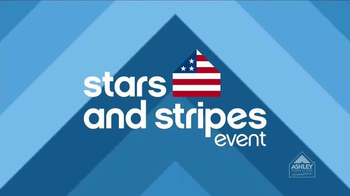 Ashley Furniture Homestore Stars and Stripes Event TV Spot, 'Ends Monday'