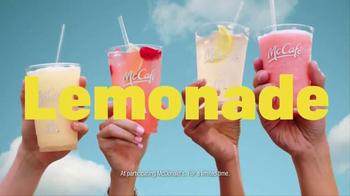 McDonald's McCafe Frozen Lemonades TV Spot, 'Lemonades' Song by Sophie thumbnail