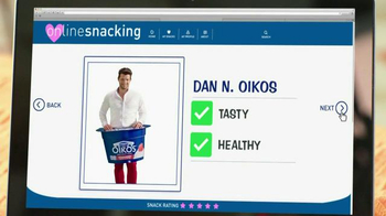 Oikos TV Spot, 'Online Snacking'