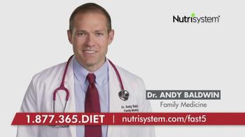 Nutrisystem Fast 5+ TV Spot, 'Dr. Andy Baldwin' thumbnail