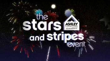 Ashley Furniture Homestore Stars and Stripes Event TV Spot, 'Doorbuster'