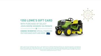 Lowe's TV Spot, 'Gas Grill & Lawn Mowers'