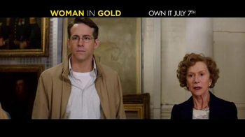Woman in Gold Blu-ray TV Spot
