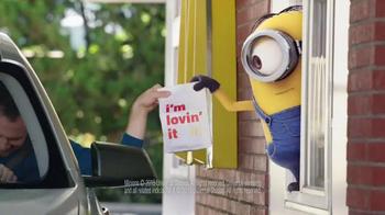 McDonald's Minion Mania TV Spot, 'Minions Drive-Thru'