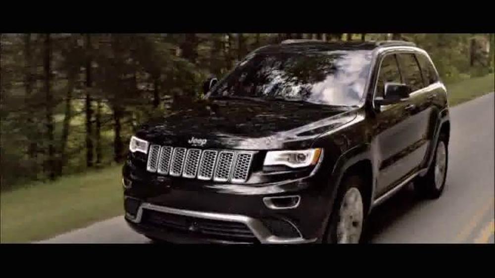 2015 jeep grand cherokee tv commercial 39 true luxury. Black Bedroom Furniture Sets. Home Design Ideas