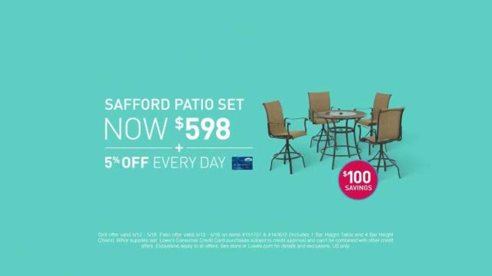 Lowes Tv Ad Patio Furniture