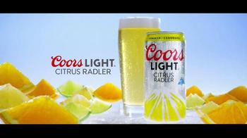 Coors Light Citrus Radler TV Spot, 'New Peaks of Refreshment'