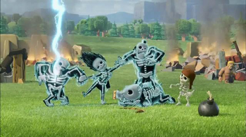 Supercell: Clash of Clans: Shocking Moves