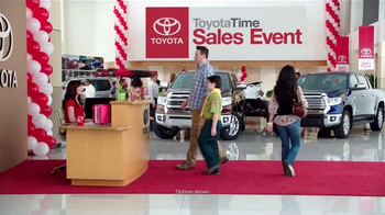2015 Toyota Tundra TV Spot, 'Toyota Time Sales Event: Deep Sea Fishing' - 44 commercial airings