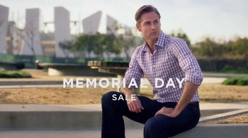 Men's Wearhouse Memorial Day Sale TV Spot, 'Suits, Dress Shirts, and More'