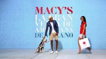 Macy's La Gran Venta de Americana de Verano TV Spot, 'Ropa' [Spanish] thumbnail